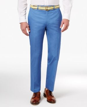 8fc05932 Lauren Ralph Lauren Men's Big & Tall Cotton Dress Pants ...