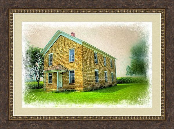 The Old Schoolhouse Framed Print By Bonfire #Photography