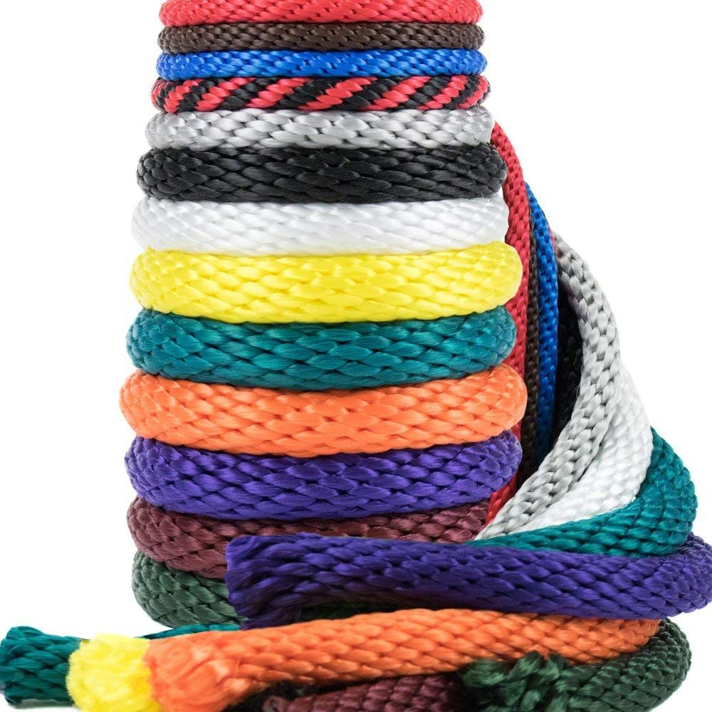 Golberg Rope 1 4 Inch 3 8 Inch 1 2 Inch 5 8 Inch 5 16 Inch Solid Braid Utility Rope Made In Usa Multifilament Poly How To Make Rope Braids Mildew Resistant