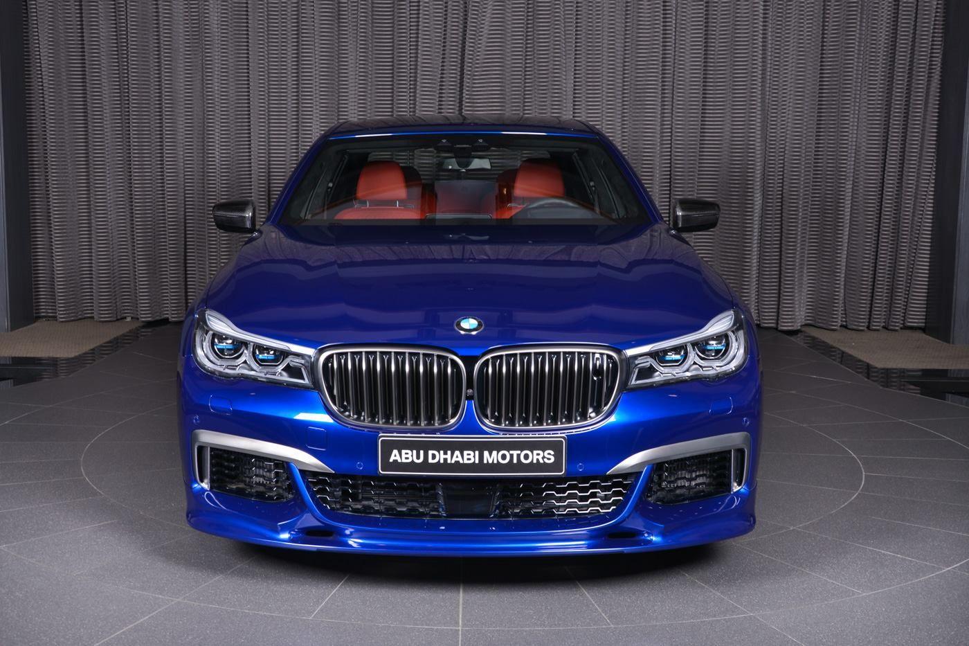 San Marino Blue Bmw M760li Looks Almost Perfect Voiture