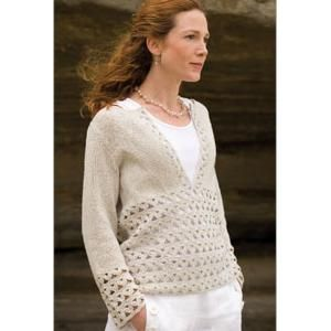Ladies  Pullovers and Sweaters Crochet Patterns - Planet Purl ... 50d29f6c6