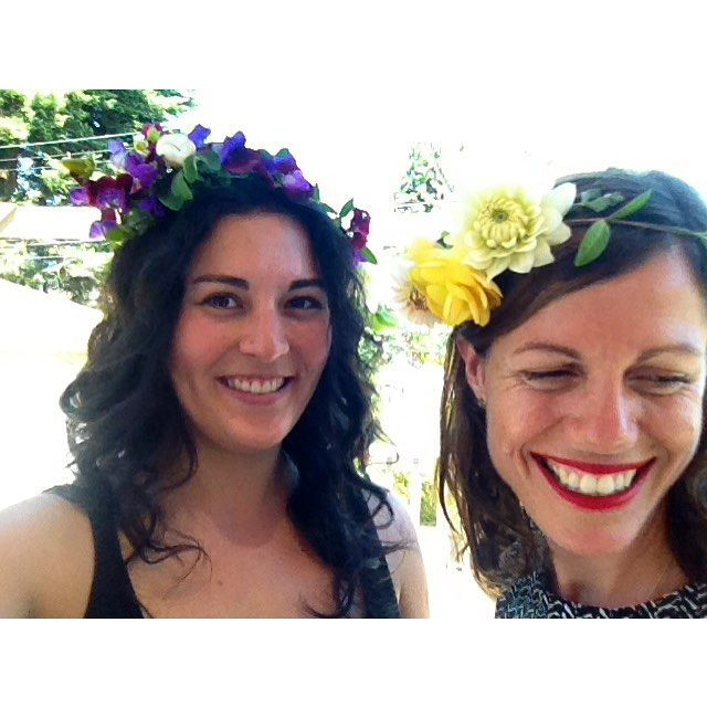 great vancouver florist That time we made flower crowns with our own garden bounty, and were feeling all happy and proud of ourselves!  #tbt #grownnotflown #flowercrowns #flowerfarmer #slowflowers #sweetpeas #dahlias #prettiness #happy #geekygardeners #us #forageandbloom #farmerflorist #dsfloral #dowhatyoulove #buyfromus #takingorders #seasonal by @forage_and_bloom  #vancouverflorist #vancouverflorist #vancouverwedding #vancouverweddingdosanddonts
