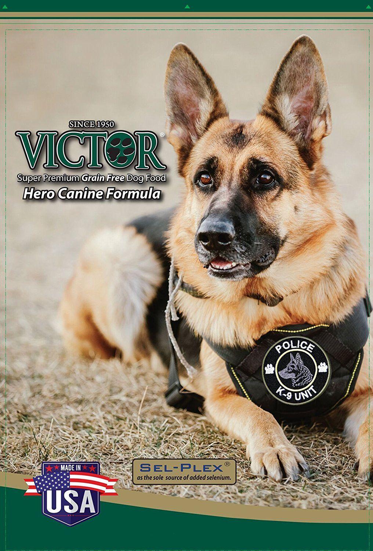 Victor Dog Food Grain Free Hero Canine Formula Dry Dog Food For