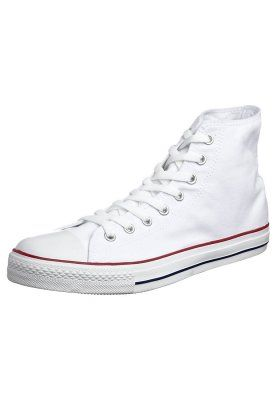 converse all star montante blanche femme