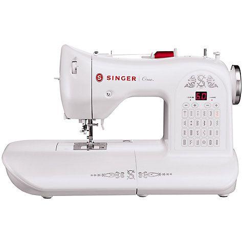Buy Singer One Sewing Machine Online at johnlewis.com ...