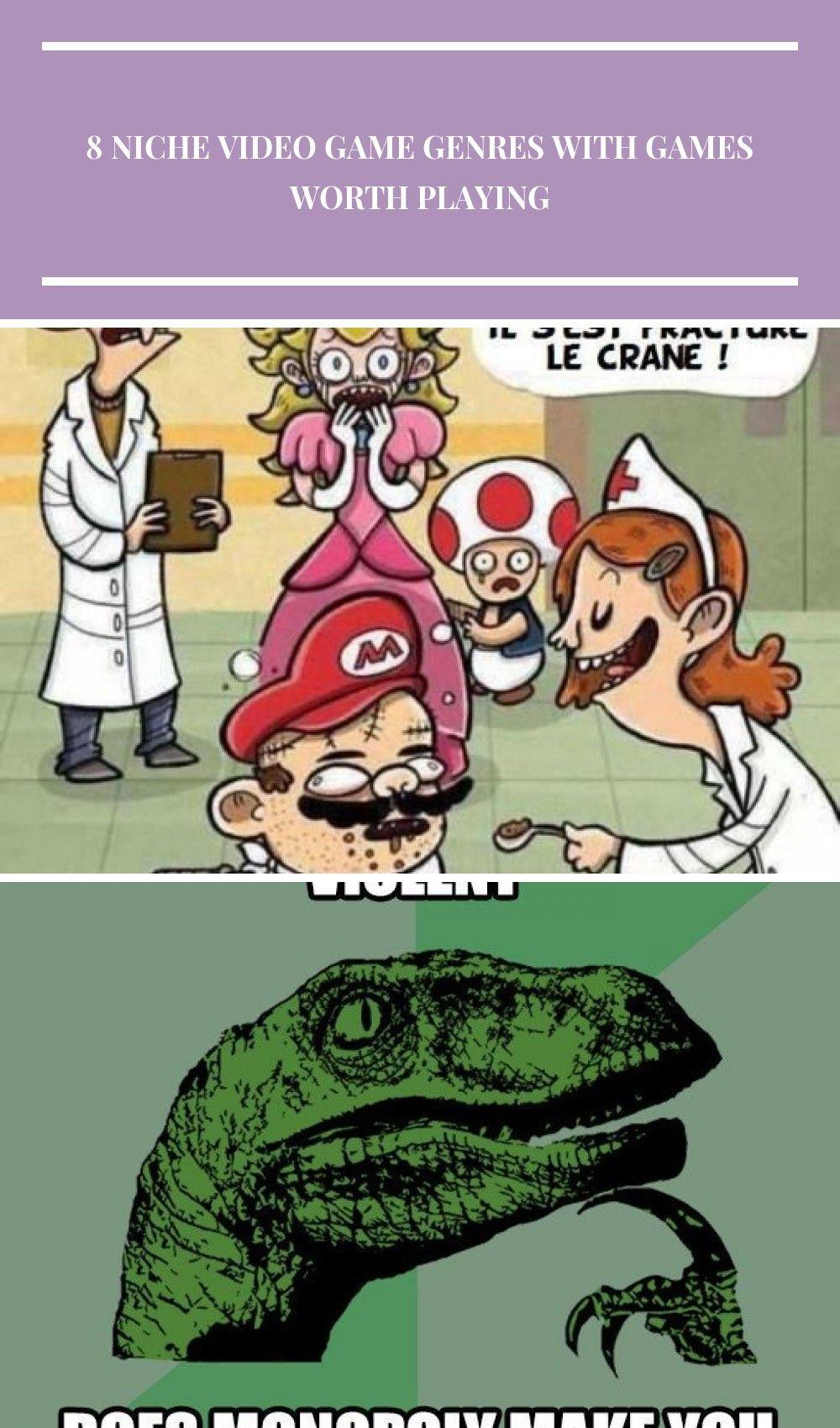 Images humour noir video game genre