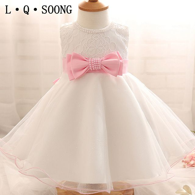 L Q Soong Marcas 1 Años Niña Bebé Vestido De Cumpleaños