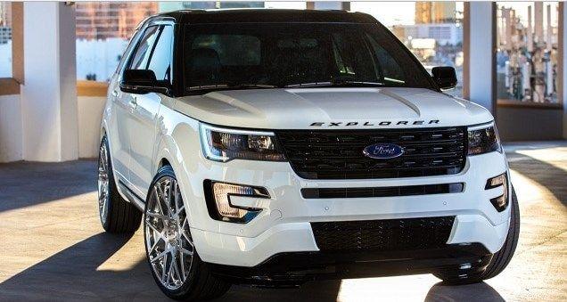 2018 Ford Explorer Redesign Interior Hybrid