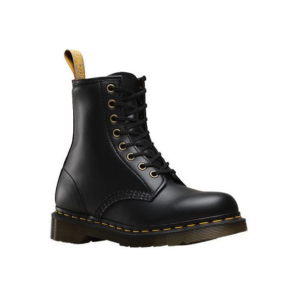 Dr. Martens Vegan 1460 8-Eye Boot - Black Felix Rub Off Casual Shoes