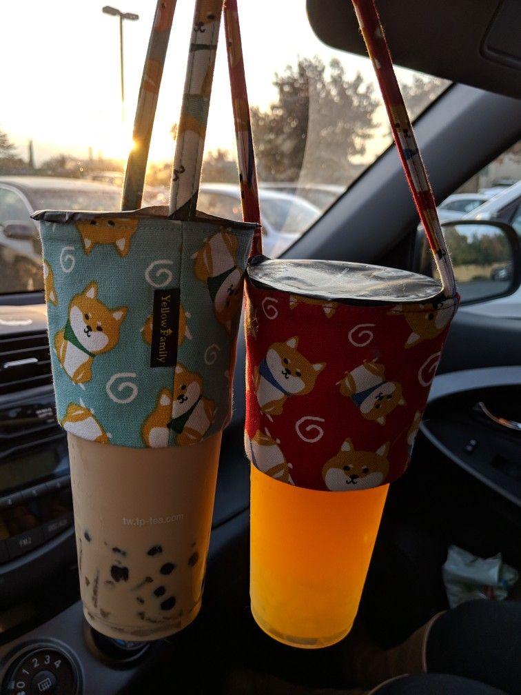 Boba Carriers Shiba Themed Tea Holder Boba Tea Boba Carrier