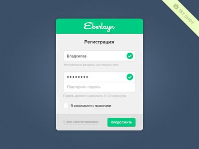 Registration Form  Registration Form Form Design And Ui Ux