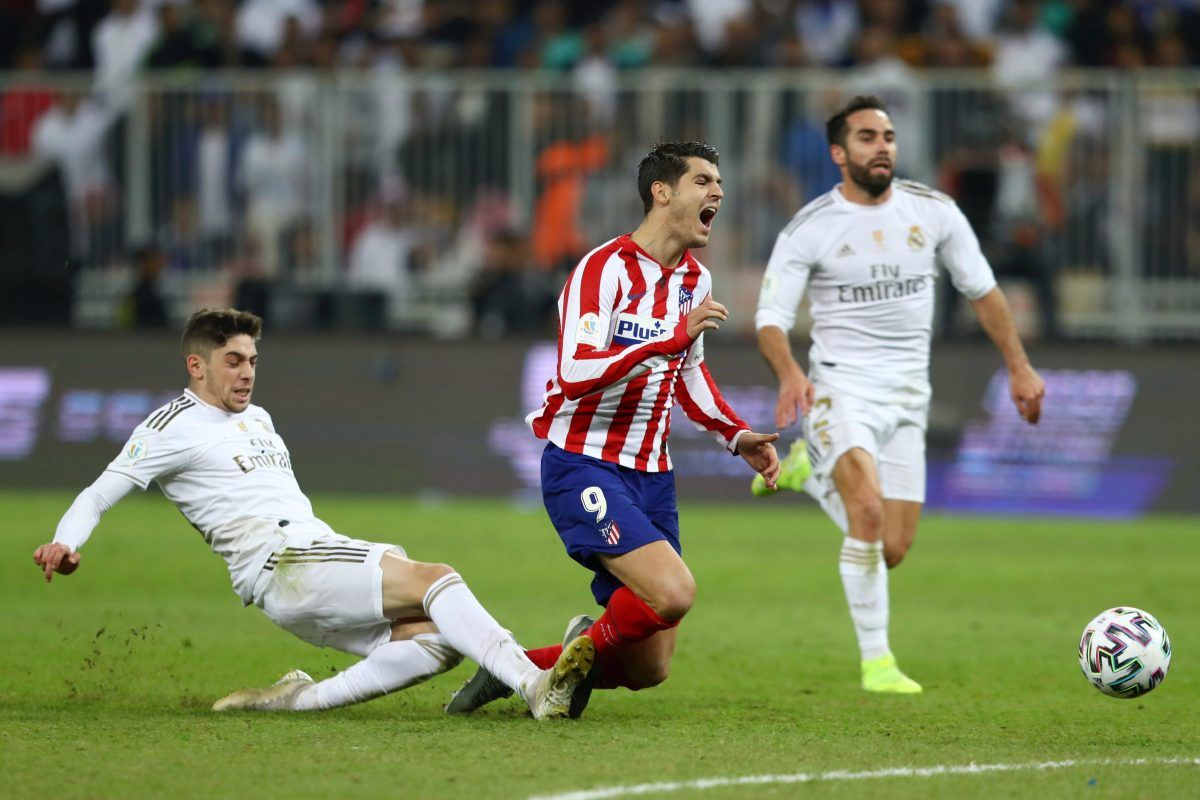 Football Laliga Spanishsupercup Real Madrid Hero Federico