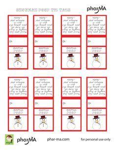 Snowman Poop Tic Tac Labels Printables Snowman Poop Snowman