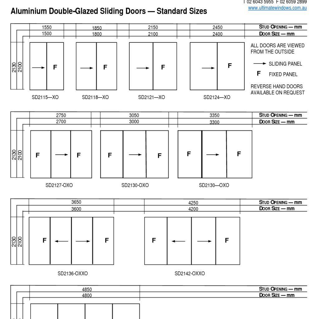 Typical Sliding Screen Door Size