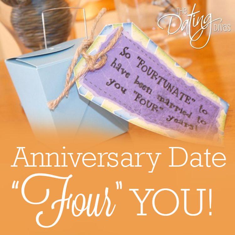 Four Year Anniversary Gift Idea   Anniversaries, Year anniversary ...