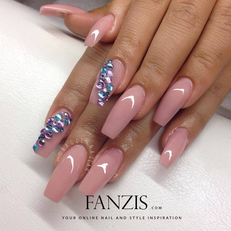 35 trendy wedding nails ideas to inspire you wedding digest 35 trendy wedding nails ideas to inspire you wedding digest naija square nail designspretty prinsesfo Images