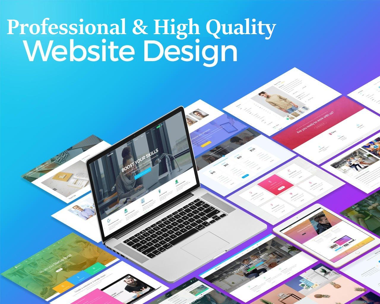 Full Functional Professional Wordpress Website Setup Website Design Services Web Development Design Wordpress Website Design