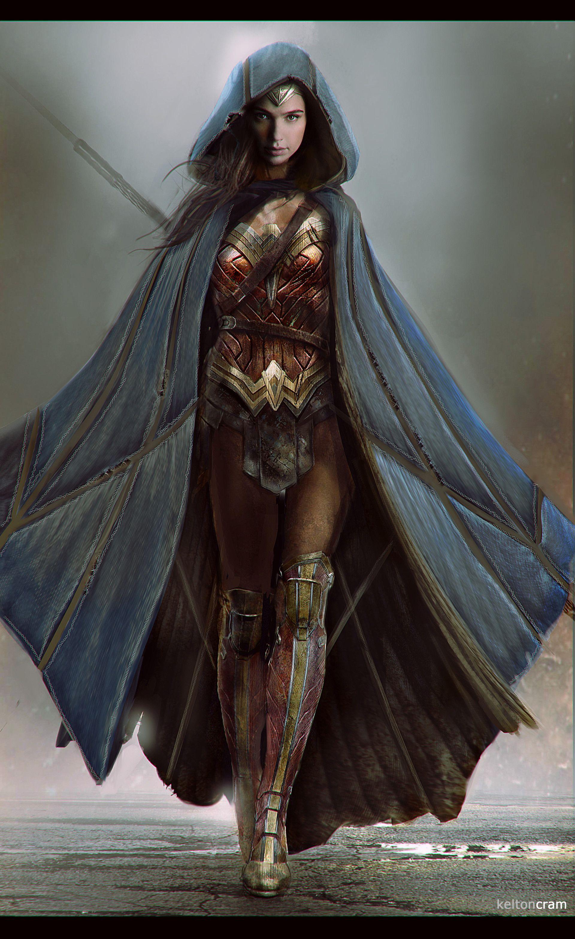 Artstation - Woman Concept 1 Kelton Cram Fan