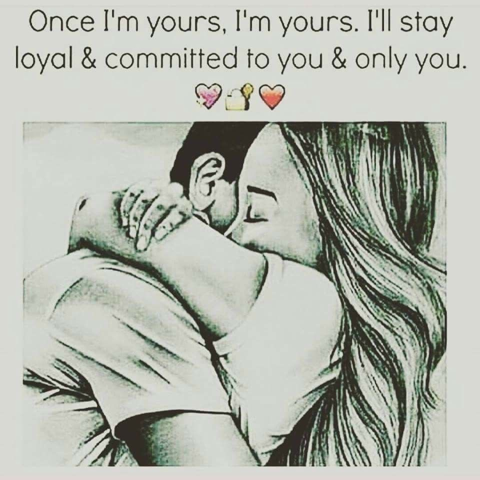 once I'm urs I'm urs. U don't need to worry about urself cause I'm here for u. Ur job is to see dreams and my job is to make them come true
