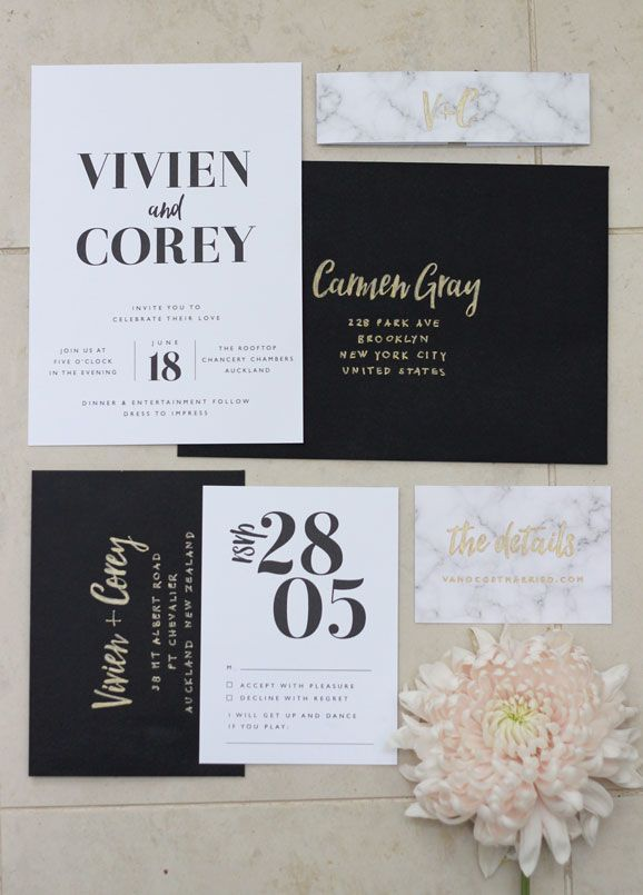Just My Type An Invitation Design Studio Based In New Zealand
