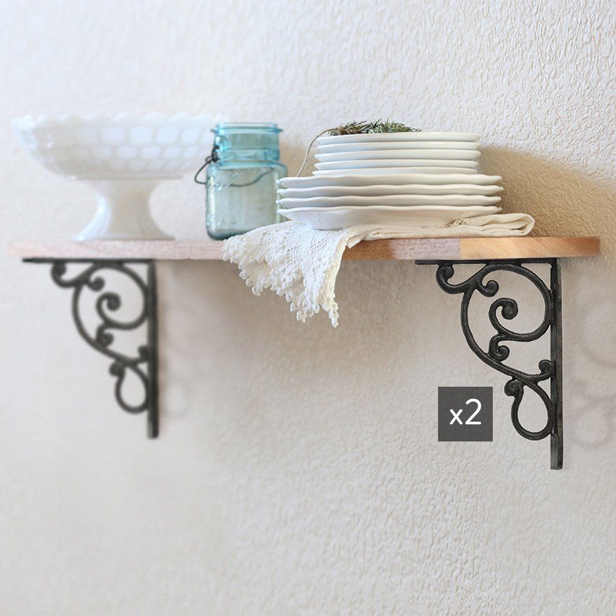 Hang Our Decorative Metal Corner Wall Brace In Your Hallway Arch Or Under Your Kitchen Island For Cast Iron Shelf Brackets Corner Wall Decorative Corner Brace