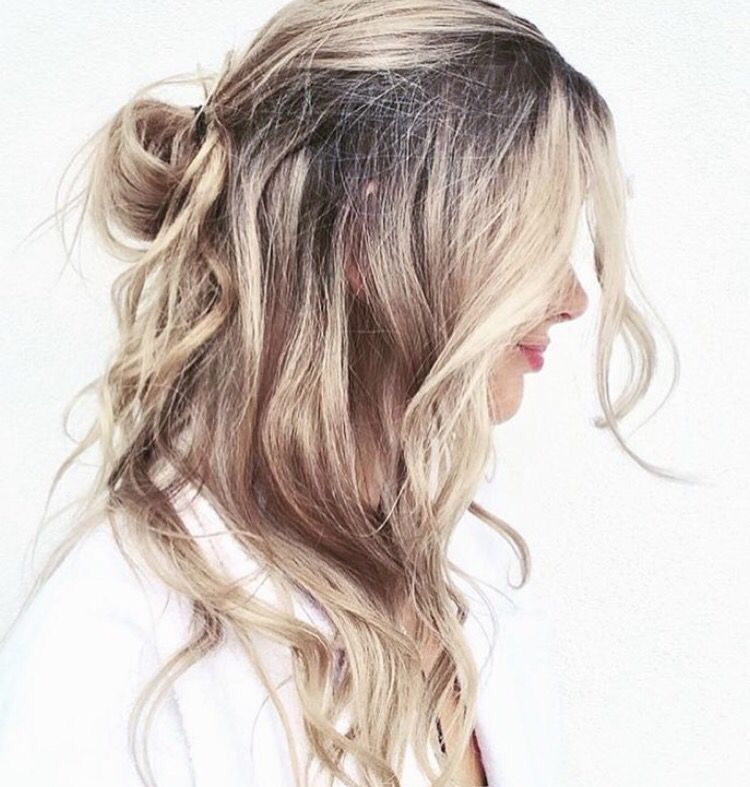 loose beach waves hairstyle hair