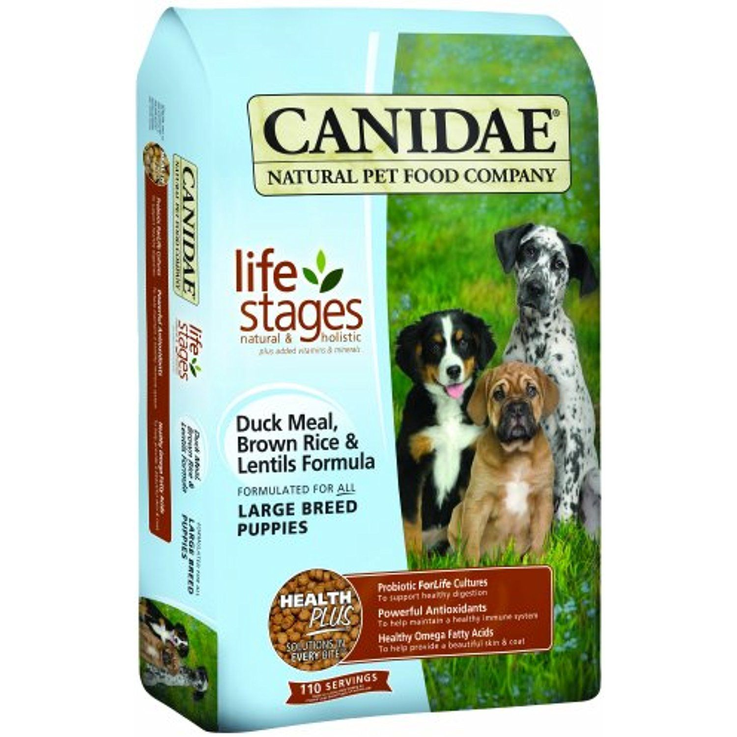 CANIDAE All Life Stages Large Breed Puppy Food Made With Duck Meal ...