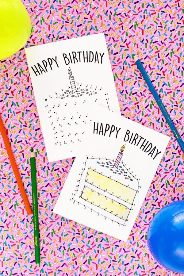 Free Printable Birthday Cards For Kids Free Printable Birthday Cards Coloring Birthday Cards Free Birthday Card