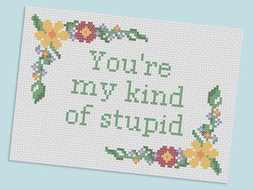 Finally, some awesome cross stitch inspiration.
