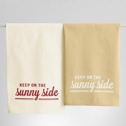 Keep On The Sunny Side Kitchen Towel