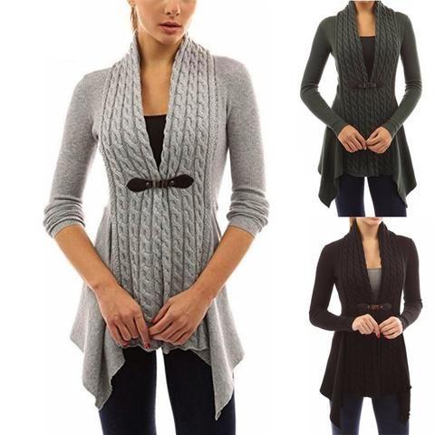 4b5c2ea28a 2018 Autumn Cardigan Knitted Sweater Women Jacket Femme Long Jumper Casual  Pull Plus Size 5XL 4XL Oversized Winter Coat Female