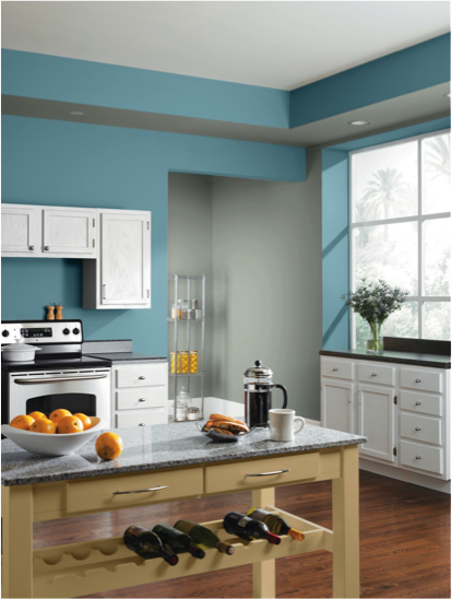 Mountain Stream Sw 7612 Blue Paint Color Sherwin Williams