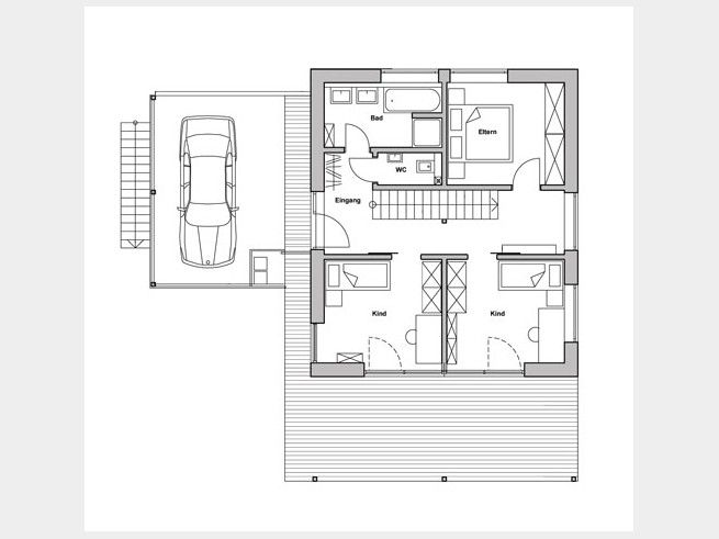 grundriss eg kohaus green schlafbereich im erdgeschoss ist ungew hnlich aber eigentlich eine. Black Bedroom Furniture Sets. Home Design Ideas