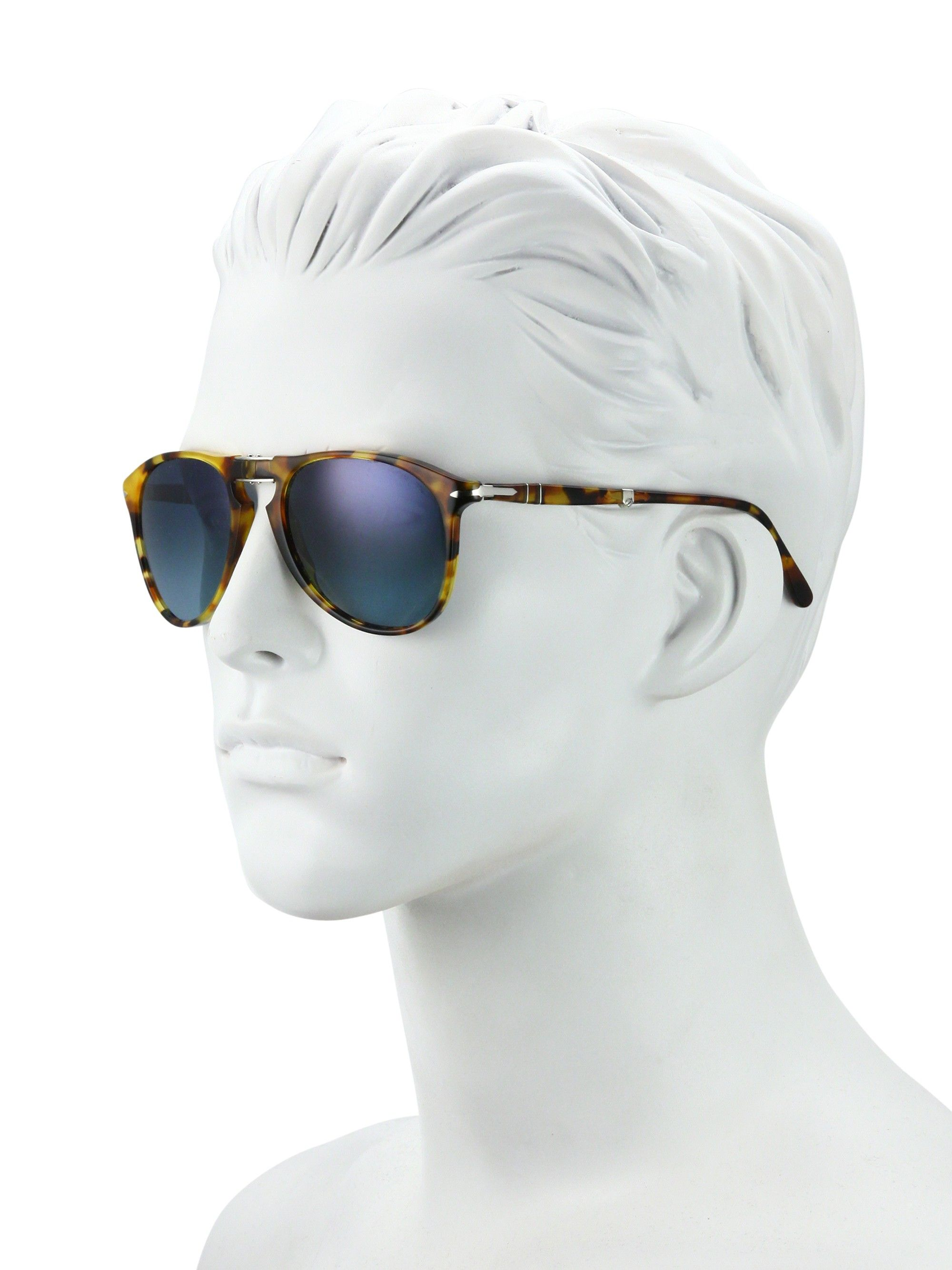 f5e128f69b11f PERSOL 55MM Pilot Sunglasses.  persol