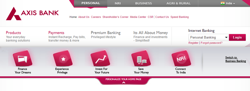 Axis Bank Personal Loan Interest Rate Eligibility Axis Bank Personal Loans Compare Cards