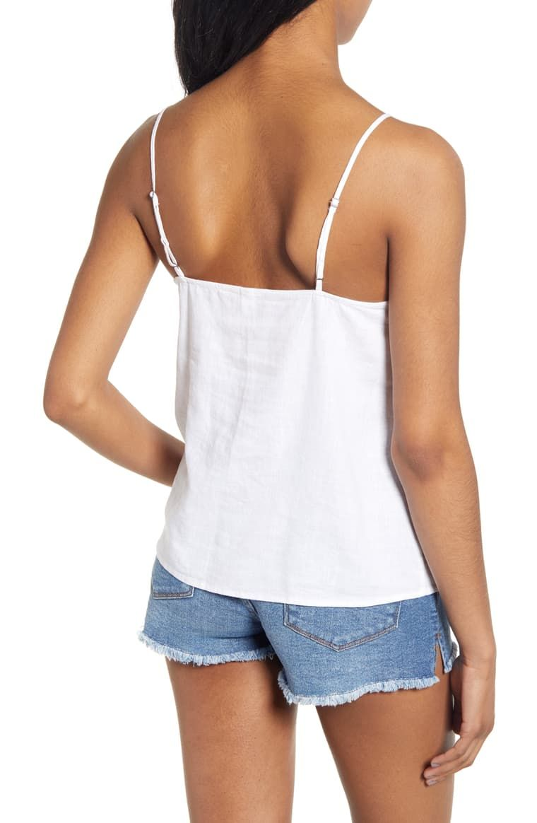 e94eed779 BP. Linen Blend Camisole Top | Nordstrom | effortlessly stylish in 2019