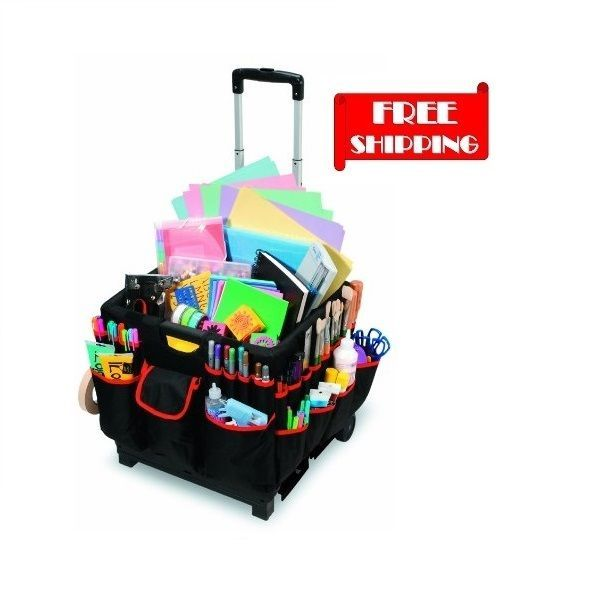 Rolling Organizer Cart Craft Tote Storage Scrapbooking Hobby