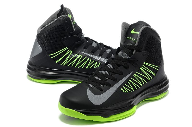 black and green hyperdunks