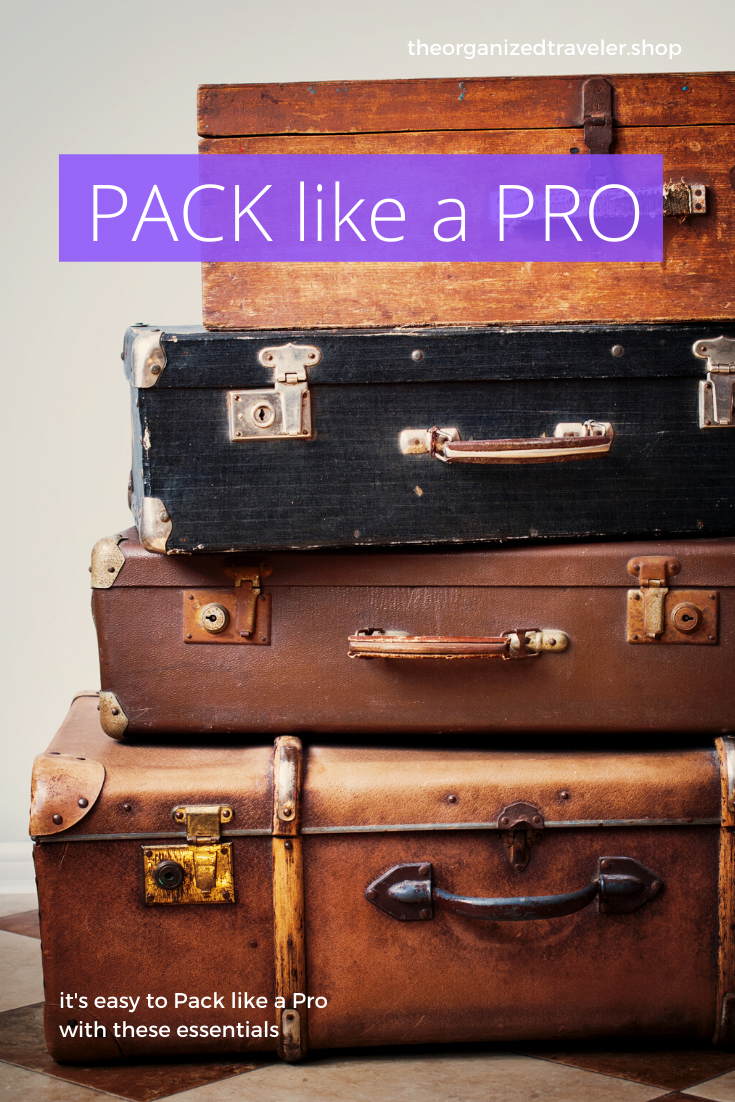 It's easy to PACK like a PRO. You don't need to bring everything...but you need to use these. #travel #packing #packlikeapro