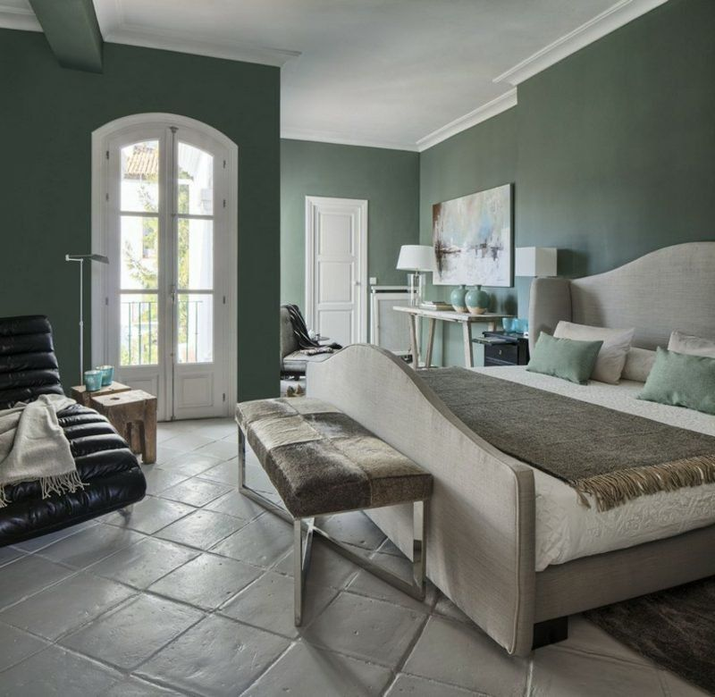 Color Sage In The Interior For A Pleasant Natural Ambience Vert