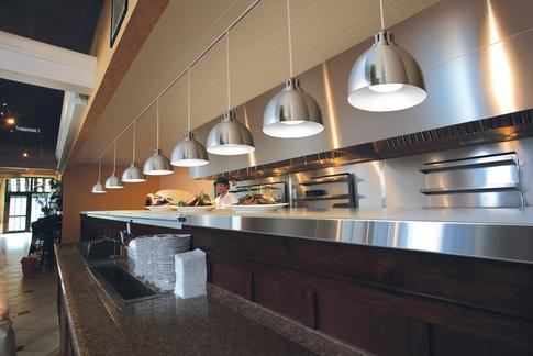 restaurant open kitchen heat lamps google search lighting warm kitchen open kitchen. Black Bedroom Furniture Sets. Home Design Ideas