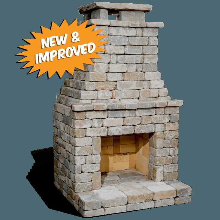 Diy Outdoor Fireplace Kit Fremont Makes Hardscaping Cheap And Easy Diy Outdoor Fireplace Outdoor Fireplace Kits Fireplace Kits