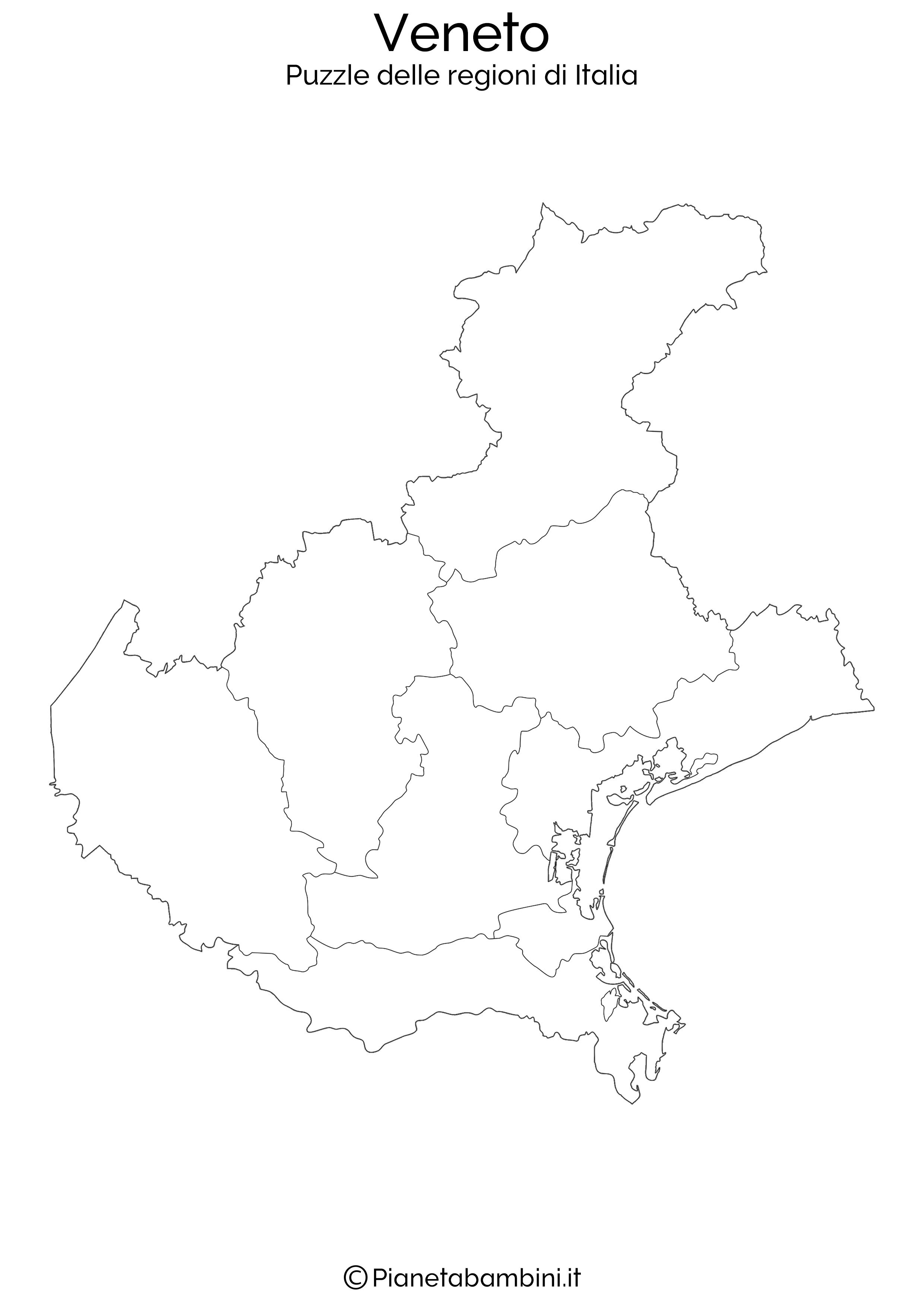 Cartina Fisica Del Veneto Da Stampare.Puzzle Delle Regioni D Italia Da Stampare Immagini Di Scuola Mappa Dell Italia L Insegnamento Della Geografia