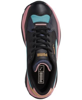 Puma Women's Storm.y Metallic Casual Sneakers from Finish
