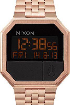 el más nuevo 867ec 5225b Nixon Dorado Digital para mujer | Relojes Dorados Nixon ...