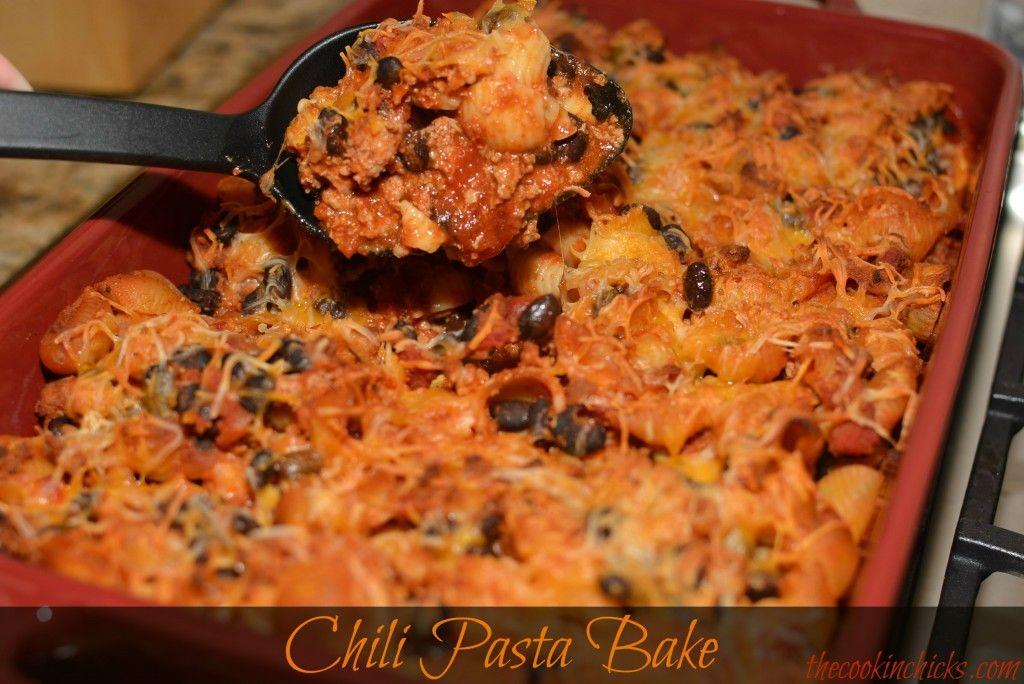 Chili Pasta Bake | Chili pasta, Pasta bake, Cooking recipes