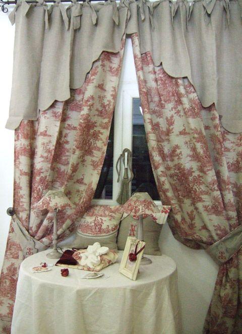 Rideau lin d coration fen tres rideaux pinterest for Toile de fenetre