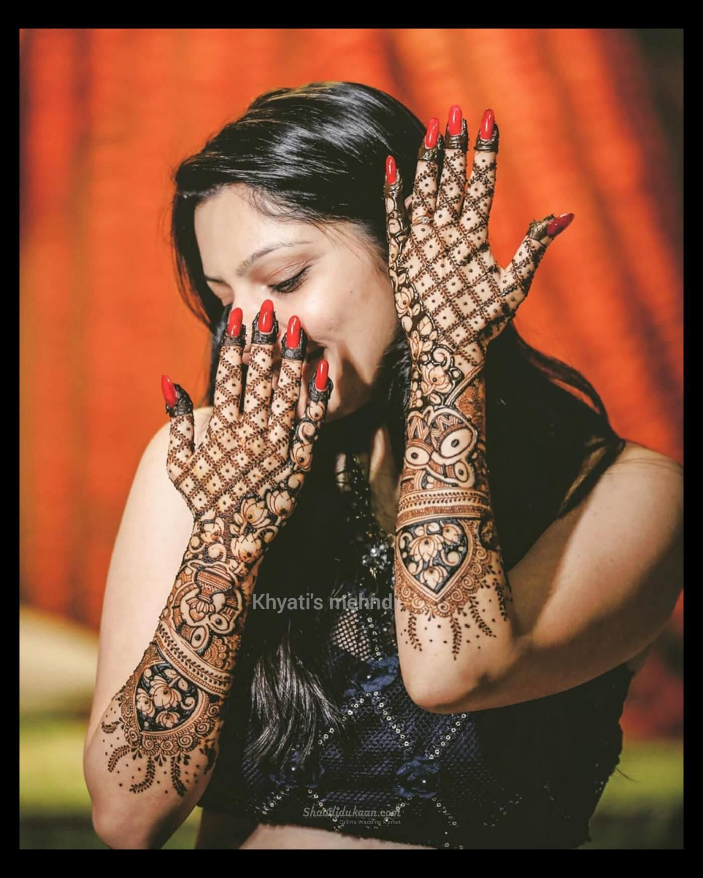 Khyati's Bridal Mehandi  | Mehndi Artist in Rajkot#henna #mehndi #wedding #hennaart #hennaartist #mehendidesign #hennatattoo #hennadesigns #mehendiart #hennadesign #mehendiartist #bridalhenna #indianwedding #mehendioutfit #hennainspire #mehandi #hennawedding  #hennalove #bridalmehendi #mehendidesigns #mehendilove #indianbride #shaadidukaan