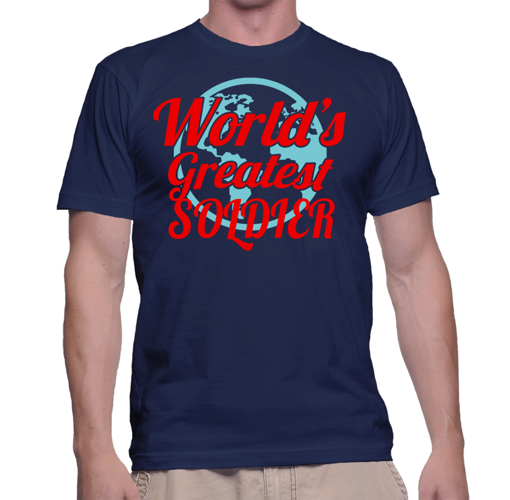 World's Best Soldier T-Shirt