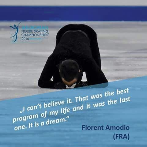 The best and last program, merci Florent!   Florent Amodio-France